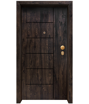 Блиндирана Входна врата F-1001 цвят GreenwIch