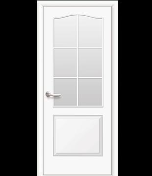Интериорна Врата модел Фортис остъклена