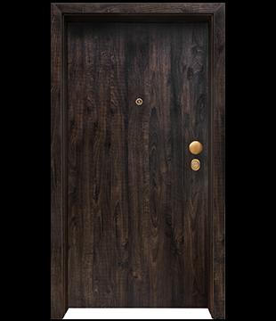 Блиндирана Входна врата Clasiko цвят Greenwich