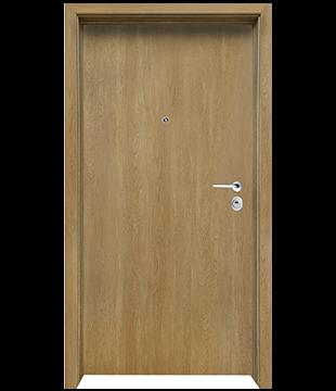 Блиндирана Входна врата Clasico цвят Fiamato