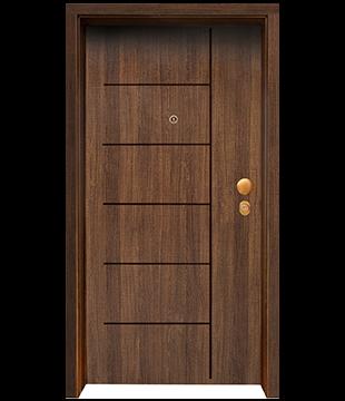 Блиндирана Входна врата F-1001 цвят Poyro
