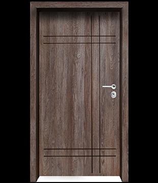 Блиндирана Входна врата F-1002 цвят Kaneto