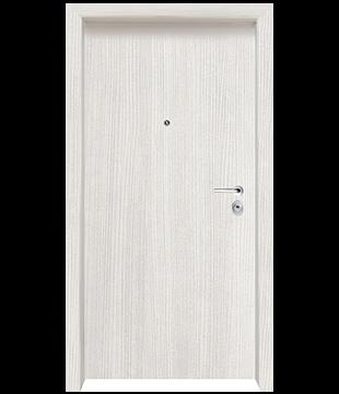 Блиндирана Входна врата Clasiko цвят White