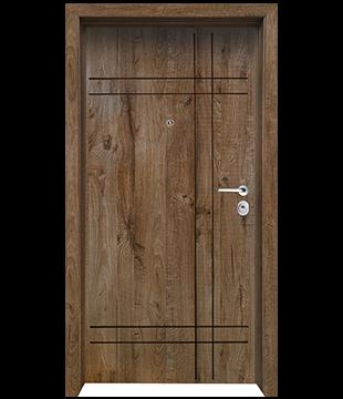 Блиндирана Входна врата F-1002 цвят James