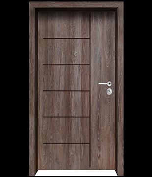 Блиндирана Входна врата F-1001 цвят Kaneto